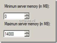 SQL Server Memory Settings