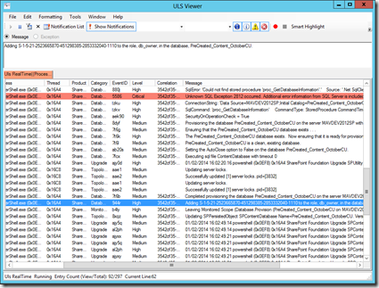 ULS_Error_AddNewContentDB_via_PS