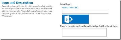 Site Logo Settings Wrong
