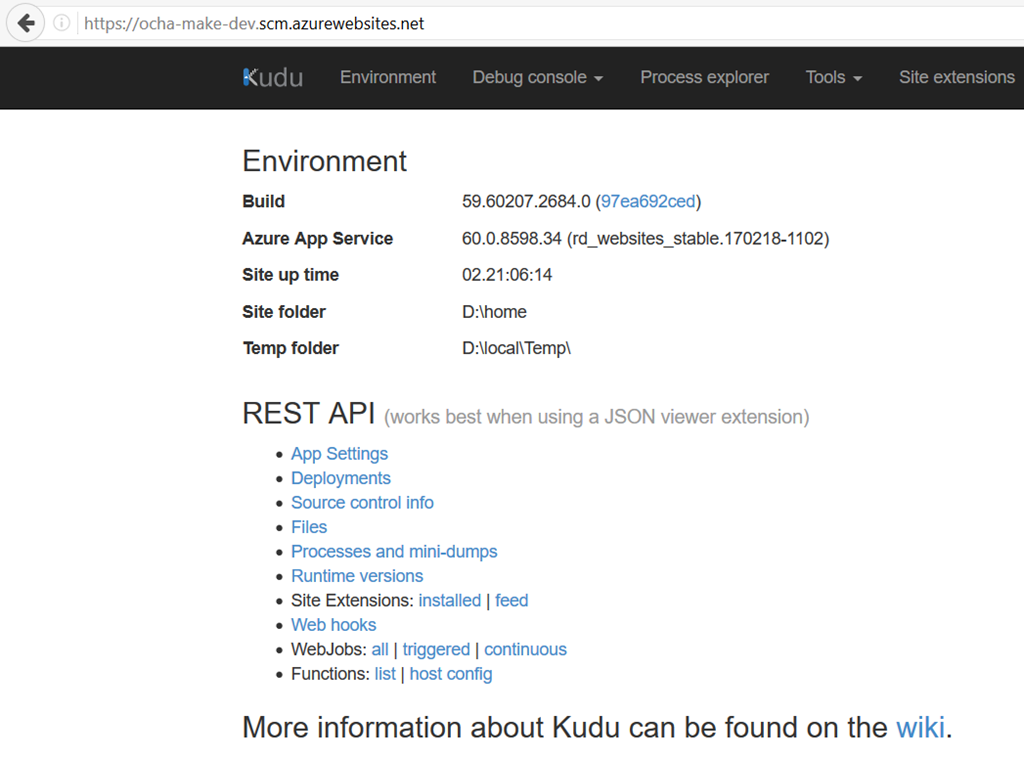 Copy files to Azure Web App with PowerShell and Kudu API – Octavie