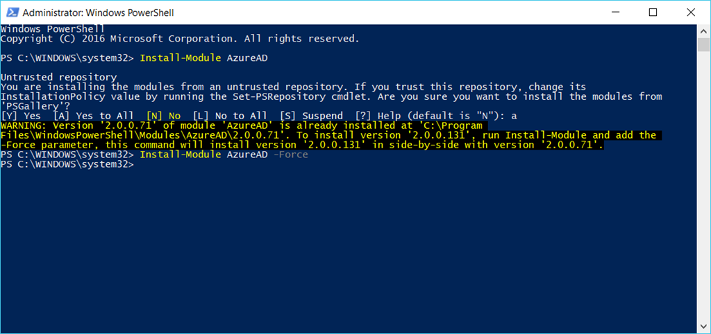 Creating Azure AD App Registration with PowerShell – Part 1